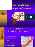 INTRO to Principles of Accounts