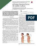 Abnormal Posture Detection