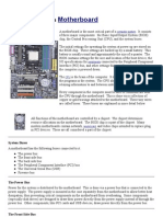 Guided Tour of a Motherboard