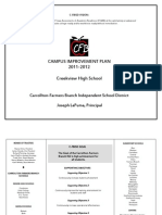 Creekview - Campus Improvement Plan 2011-2012