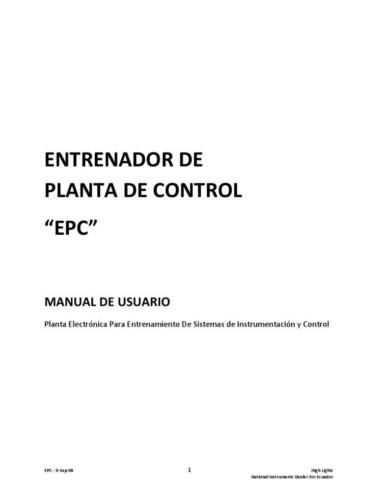 Epc Manual de Usuario