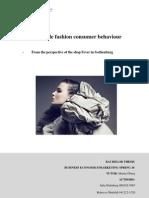Femail Fashion Consumer Behaviour