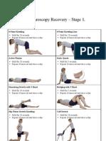 Hip Arthroscopy Recovery