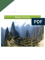 Machu Picchu Slide