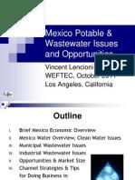 WEFTEC Mexico Water Presentation 10-18-2011