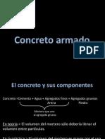 El Concreto y Sus Componentes