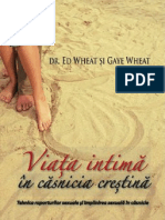 Viata intima in casnicia crestina - dr. Ed Wheat si Gaye Wheat