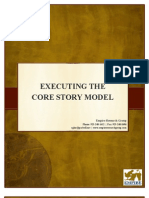 Executing Core Story Sales Model