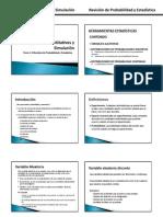 MCS - Tema 1.2 Revisión de Probabilidad y Estadística