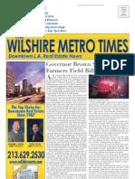 Wilshire Metro Times - Fall 2011