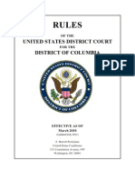 DC Circuit Court Rules