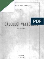 Calculo Vectorial 3Ed _Bento Jesus Caraca -1960
