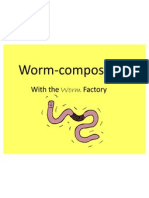 Setting Up Your Worm Factory