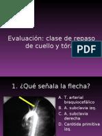 Evaluación Cuello y tórax