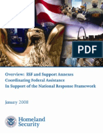 National Response Framework and Emergency Support Function