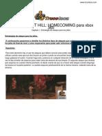 Guia Trucoteca Silent Hill Homecoming Xbox 360