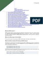 ABAP Question QB3 24Oct2007