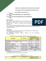 ESPECIFICACIONES TECNICAS ASFALTO