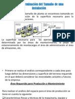 3.1 Determinación del Tamaño de una instalación