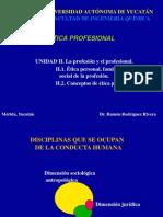 u II-1 y 2 Etica y Las Profesiones
