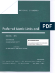 ANSI B4.2 - 1978 Preferred Metric Limits and Fits