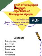 Dravya Guna Basic