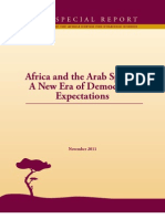 Africa and the Arab Spring
