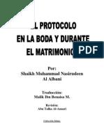 El Protocolo en La Boda y Durante El Matrimonio