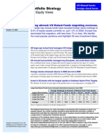 US Mutual Funds Migrating Overseas