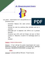 Statuts de Bougeons Pour Gouro