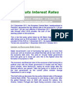 European Central Bank-ECB Cuts Interest Rates-VRK100-10Nov2011