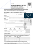 Application Form for the Post of PGT&TGT