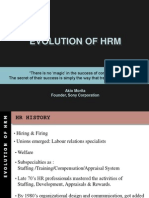 Evolution of Hrm