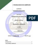 Relaciones les Unidad 3 de Admin is Trac Ion Gerencial