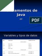 Clase Fundamentos de Java