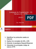 LP-II - Semana-01 - Protocolos de Internet