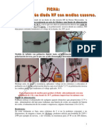 prueba diodo HF