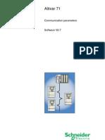 ATV71 Communication Parameters V27