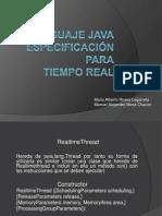 Lenguaje Java RTSJ