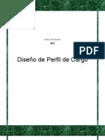 diseño de perfil de cargo