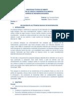 APLICACIÒN DE LAS TÉCNICAS BASICAS DE BIOSEPARACIÓN