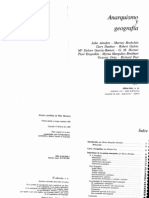 Anarquismo y Geografia - Peet, Richard Et Al