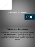 36814752 Training Evaluation Ppt
