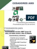 Procesadores Amd
