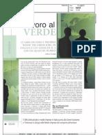 Lavoro al Verde. Ci sarà un boom dei Green Jobs in Italia? - Beverage and Grocery novembre 2011