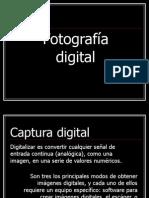 Fotografía. Prestaciones de las cámaras digitales