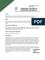 Pt of Aerospace Materials
