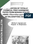 Handmade Paper Banana