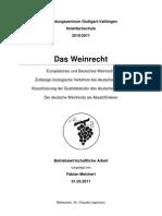 Weinrecht Deckblatt Etc