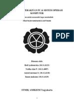 MAKALAH-PERAKITAN-PC (Tugas Mata Kuliah Hardware Software STMIK AMIKOM Yogyakarta)